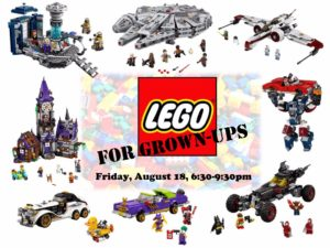 Lego for Grown-Ups